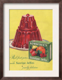 Rowntree's  Jelly  Desserts  UK  1950