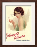 Player's Navy Cut  Cigarettes Smoking  UK  1930