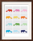 Rainbow Grey Rhinos