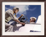 Pilot Training at the Naval Air Base  Corpus Christi  Texas  1942
