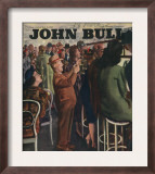 John Bull  Alcoholic Short Men Queues Magazine  UK  1946