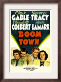 Boom Town  Claudette Colbert  Clark Gable  Spencer Tracy  Hedy Lamrr  1940