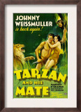 Tarzan and His Mate  Johnny Weissmuller  Maureen O'sullivan  1934
