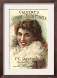Calvert Toothpaste  UK  1890