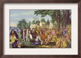 William Penn's Treaty with the Indians Founding the Colony of Pennsylvania  1661  Painting by