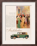 Studebaker  Magazine Advertisement  USA  1929