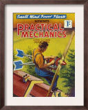 Practical Mechanics  Wind Power Turbine Global Warming Alternative Magazine  UK  1954