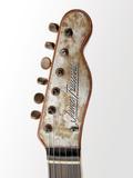 Billy F. Gibbons Custom Guitar Papier Photo par David Perry