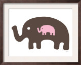 Pink Expecting Elephant