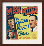 Man Hunt  Walter Pidgeon  Joan Bennett  1941
