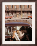 1970s America  a Chicano Teenager in the Barrio Area of El Paso  Texas  1973