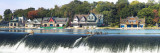Boathouse Row at the Waterfront  Schuylkill River  Philadelphia
