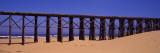 Footbridge On The Beach  Pudding Creek Bridge  Fort Bragg  Mendocino  California