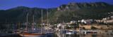 Boats at a Marina  Kas  Antalya Province  Turkey