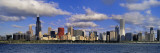 Panoramic View of An Urban Skyline By the Shore  Chicago