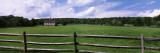 Barn in a Field  Near Cuba Lake  Allegany County  New York State