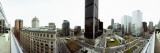 360 Degree View of a City  Montreal  Quebec  Canada