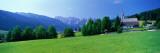 Country Churches Near Dachstein  Gosau  Austria