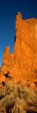 Low Angle View of Sandstone Rocks  Arizona