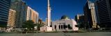 Mosque in a City  Sheikh Rashid Bin Saeed Al Maktoum Street  Abu Dhabi  United Arab Emirates