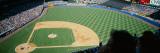 High Angle View of Spectators Watching Baseball in Yankee Stadium