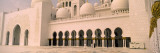 Courtyard of a Mosque  Sheikh Zayed Mosque  Abu Dhabi  United Arab Emirates