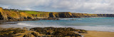 The Copper Coast  From Boatstrand Harbour  Co Waterford  Ireland