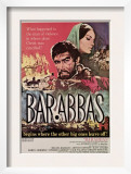 Barabbas  from Left  Anthony Quinn  Silvana Mangano  1962