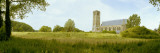 Church On a Landscape  Damme  West Flanders  Belgium