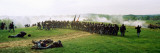 Union vs Confederacy Pea Ridge Civil War Battle Reenactment  Ozark Mountains  Arkansas
