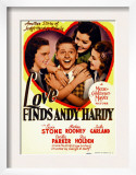 Love Finds Andy Hardy  Judy Garland  Mickey Rooney  Ann Rutherford  1938