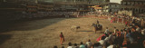 Spectators Watching Bullfighting in a Stadium  Spain