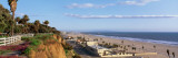 Panorama View of Beach and Blue Sky