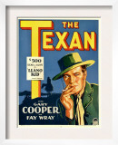 The Texan  Gary Cooper on Window Card  1930
