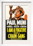 I Am a Fugitive from a Chain Gang  Paul Muni  1932