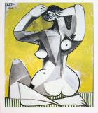 Nu Accroupi Reproduction pour collectionneurs par Pablo Picasso