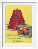 Rowntree&#39;s  Jelly  Desserts  UK  1950