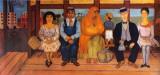 L'autobus Reproduction d'art par Frida Kahlo