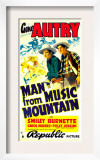 Man from Music Mountain  Gene Autry  Smiley Burnette  1938