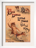 Cats and Dogs Illustrations Louis Wain  UK  1910