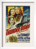 Thunder Birds  Clockwise from Left: Gene Tierney  Preston Foster  John Sutton  1942