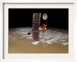 Mars Odyssey Spacecraft Passes above Mars&#39; South Pole