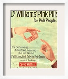 Dr Williams Pin Pills Medical Medicine  UK  1890