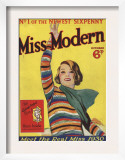 Miss Modern  First Issue Teenagers Magazine  UK  1930