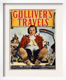 Gulliver's Travels  Midget Window Card  1939