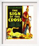 Sign of the Cross  Elissa Landi  Fredric March on Window Card  1932