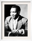 American Actor  Athlete  Singer  and Civil Rights Activist Paul Robeson  1898-1976  c1940