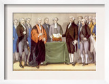 George Washington's Presidential Inauguration in New York on April 30  1789