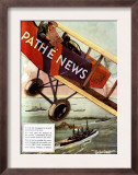 Pathe News  Aviation  USA  1920