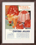 Chivers Jelly Desserts  UK  1930